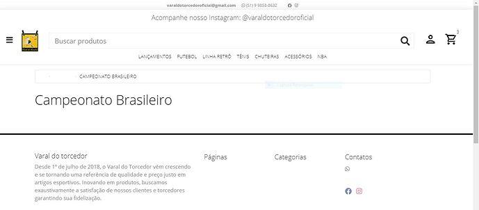 Categoria - Campeonato Brasileiro